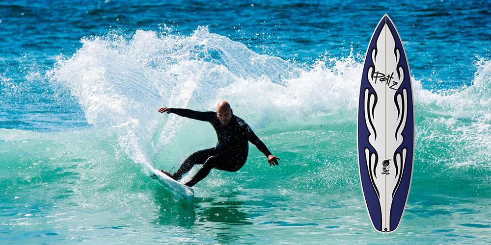 POTTZ SURFBOARDS BY MATTAshapes